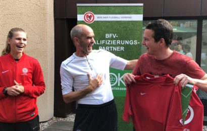 (#11) - Bianca, Ingo Weniger and Guido Reiffeiser at UEFA C _ B License 2019