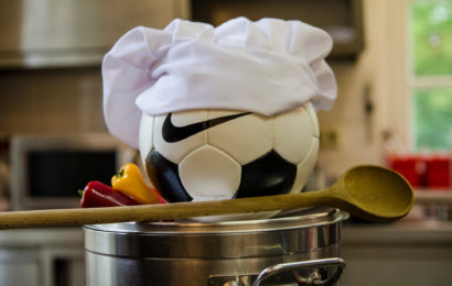 (#15) - Soccer ball and Cooking at UEFA C _ B License